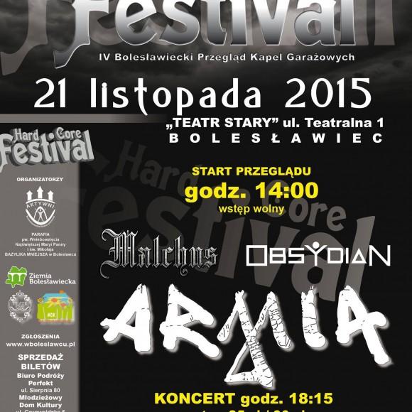 Współorganizujemy Hard Core Festival