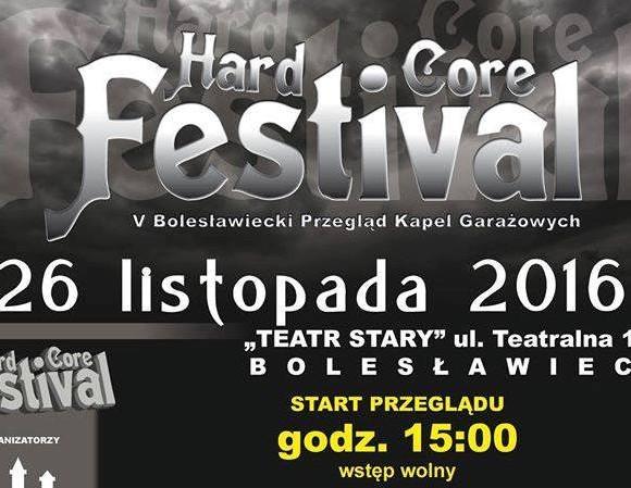 Wspieramy V Hard Core Festival